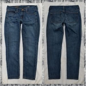 J Crew Cropped Matchstick Jeans